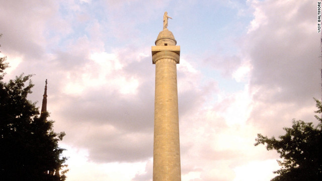 "Tess Monaghan climbed to the top of Baltimore's Washington Monument just once, in Laura Lippman's novel, ""In Big Trouble."""