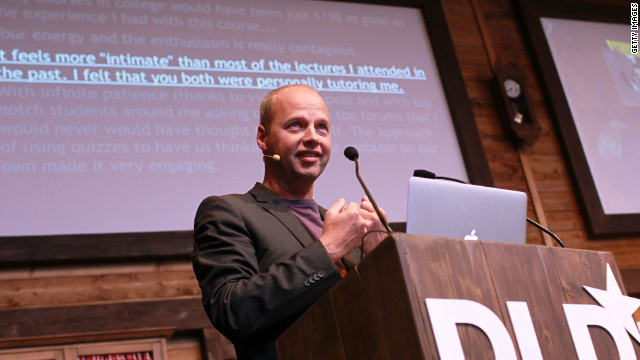 Udacity was the brainchild of Sebastian Thrun.