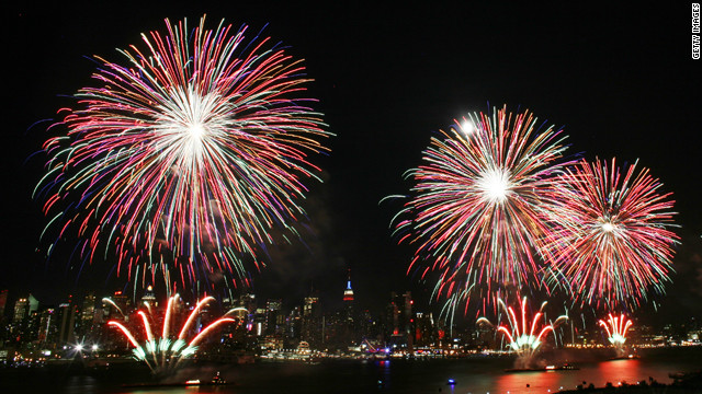 Gotta Watch: Bizarre fireworks celebrations