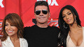 Judges Paula Abdul, Simon Cowell and Nicole Scherzinger pose at The X Factor Press Conference at CBS Televison City on December 19, 2011 in Los Angeles, California.