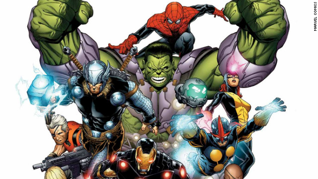 "Marvel Comics canceled a number of their long-running books and <a href='http://www.cnn.com/2012/11/06/showbiz/marvel-then-now&sa=U&ei=WiwuUfOdKYnc9ASKg4DQBQ&ved=0CBgQFjAA&usg=AFQjCNHHObrwxW-aim1jJual2BjLqAlLJQ'>renumbered them to #1</a> in 2012 in order to make the stories easier to follow for new readers. Less of a ""reboot"" than a ""relaunch."""