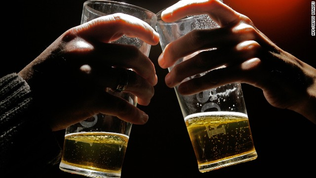 "Alcohol can flow freely during a holiday meal, but many beers have between 150 to 200 calories per 12 oz. serving. Try skipping them in favor of a low-calorie beer or one of the new ""light"" liquors. Or switch to a no-calorie soda or nonalcoholic beverage instead."