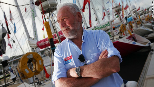 "The ""Clipper Round the World Race"" is the brainchild of Robin Knox-Johnston - the first man to sail single-handedly around the world. His aim is to give everyone, regardless of sailing experience, the opportunity of ocean racing."