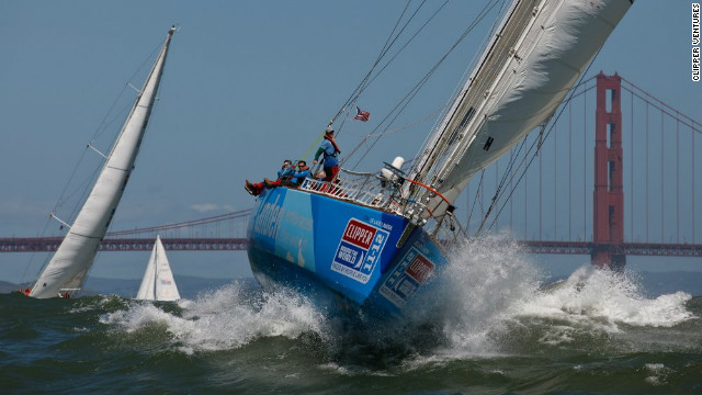 The first race took place in 1996; it consisted of eight boats and saw 300 people take part in the round-the-world relay competition. 
