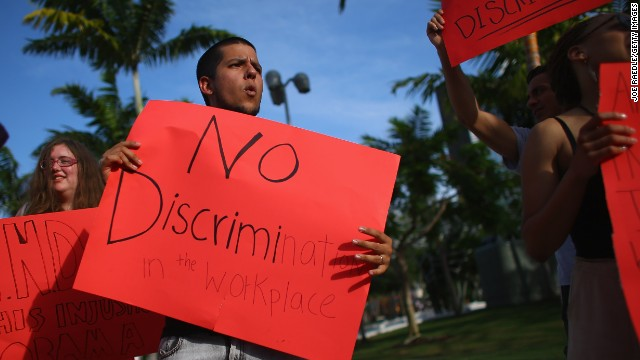 The Senate voted to debate a bill aimed at ending workplace discrimination against gay, lesbian and transgender workers.
