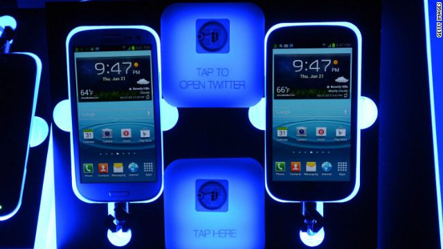 South Korean tech giant Samsung has high hopes for its latest smartphone device -- the Galaxy S III.