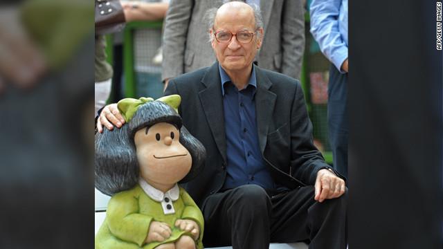 """""""Mafalda"""" celebra los 80 años de su padre """"Quino"""""""