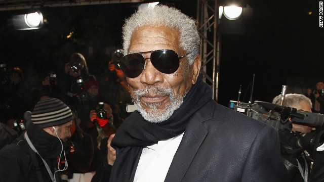 Morgan Freeman: Obama's not our first black president