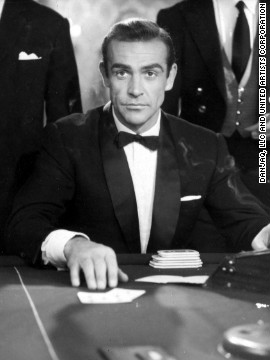 Scottish actor Sean Connery played James Bond in the first film &quot;Dr. No&quot; in 1962.