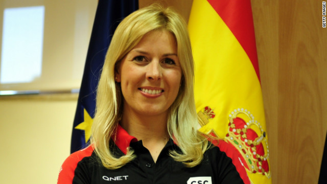 Maria de Villota joined the Marussia Formula One team as a test driver in March.