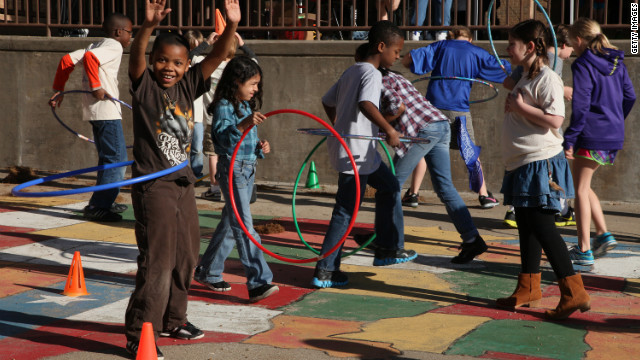 Most kids don't get enough PE, says study