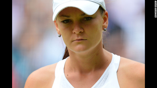 """This is what I dreamed of since I was a kid,"" Radwanska said. ""Everyone wants to reach a Grand Slam final. It is the best two weeks of my career."""