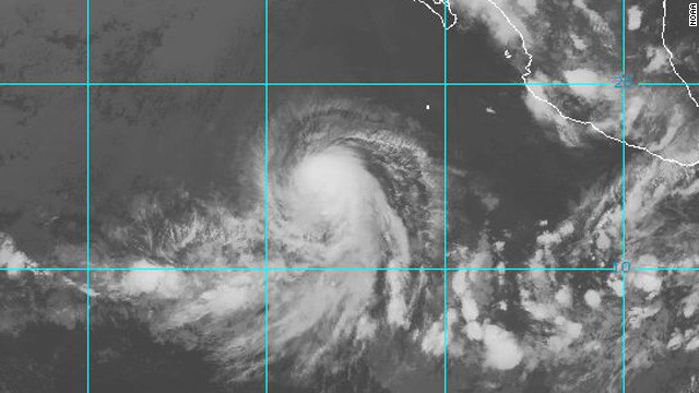 Hurricane Daniel forms in Pacific