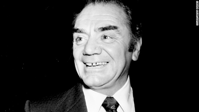 Ernest Borgnine died on Sunday, July 8, at age 95. He's pictured here in 1973. In his greatest acting achievement, he won an Academy Award for his role in 1955's &quot;Marty.&quot;