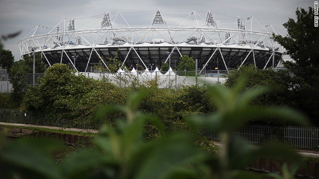 The Olympic Stadium is the lightest ever constructed, say organizers, weighing 10 times less than Beijing's Bird's Nest stadium. 