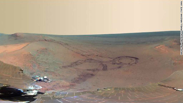 NASA reveals panoramic view of Mars