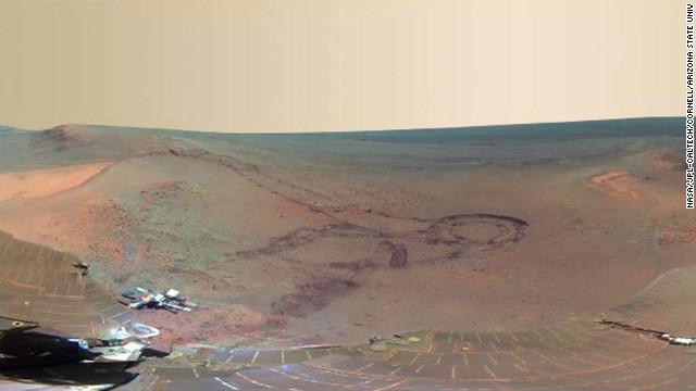 La NASA presenta una imagen panorámica de 360 grados de Marte