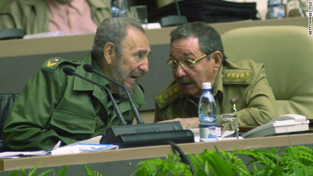 "Sanchez says the election of the relatively young Barack Obama in 2008 stood in marked contrast to the ""old men in olive green"" (Fidel and Raul Castro) running Cuba."