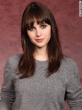"Twenty-eight-year-old Felicity Jones has a few years on literature student Anastasia Steele, but she did play a rather convincing college student in 2011's ""Like Crazy."""