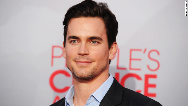 """White Collar's"" Matt Bomer, 34, would make a great Christian Grey. (The actor currently appears as a stripper in ""Magic Mike,"" so we figured he'd be down for some on-screen BDSM.)"