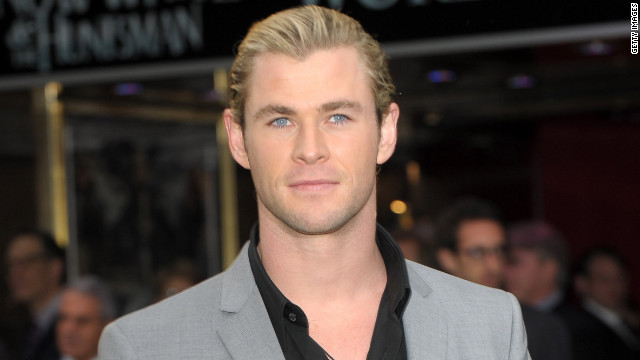 If new dad Chris Hemsworth, 28, isn't too busy wielding Thor's hammer to take part, he could step into Grey's shoes.