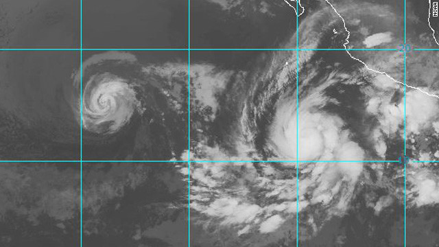 Emilia expected to become major hurricane in Pacific