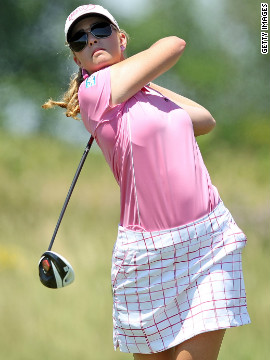 Paula Creamer, the 2010 champion, was the highest-placed American as she tied for seventh.
