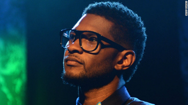 Usher Raymond, pictured here, was married to the mother of critically injured 11-year-old Kile Glover for two years.