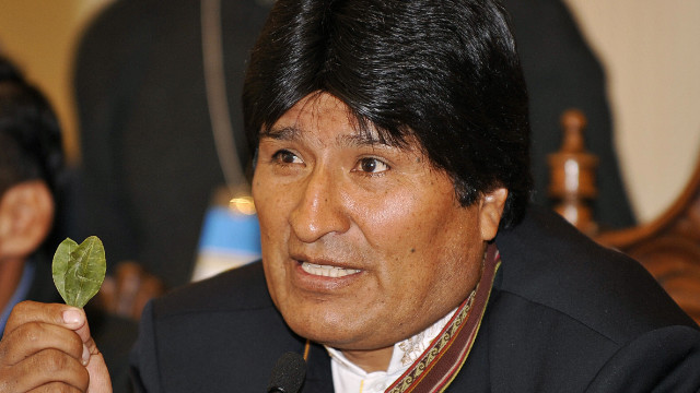 Bolivia's Morales on re-election to helm of coca growers' union: 'Death to the Yankees!'