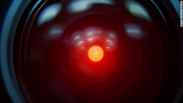 In the 1968 science fiction film &quot;2001: A Space Odyssey,&quot; it's computer HAL 9000 that has real control of spacecraft Discovery One, not the astronaut crew.