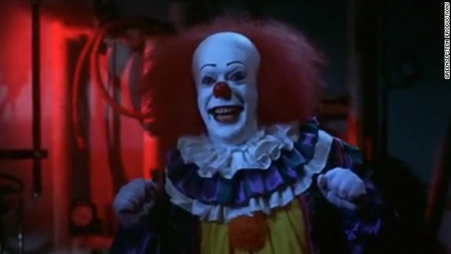 One of the main characters of the 1990 miniseries &quot;It,&quot; which is based on a novel by Stephen King, is a sarcastic and sadistic clown.