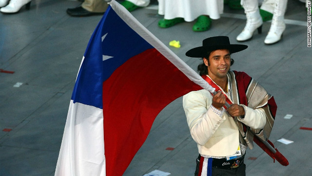 Gonzalez was asked to be Chile's flag bearer at the 2008 Olympics in China, an honor he described as &quot;huge.&quot; Chile had only ever won 13 medals before London 2012, and Gonzalez can boast three of them.