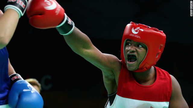T-Rex: The Youngest Female Olympic boxer