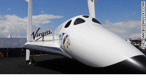 SpaceShipTwo will blast off in 2013