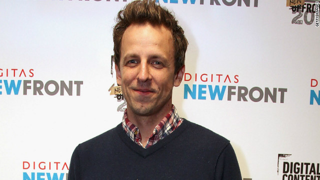 Seth Meyers on 'Live!' reports: 'No, no, no'