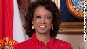 Florida Lt. Governor Jennifer Carroll supports Governor Mitt Romney.
