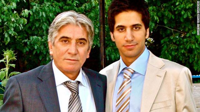 Abbas Khameneh lives in Iran while his son, Yashar Khameneh, lives in Holland.
