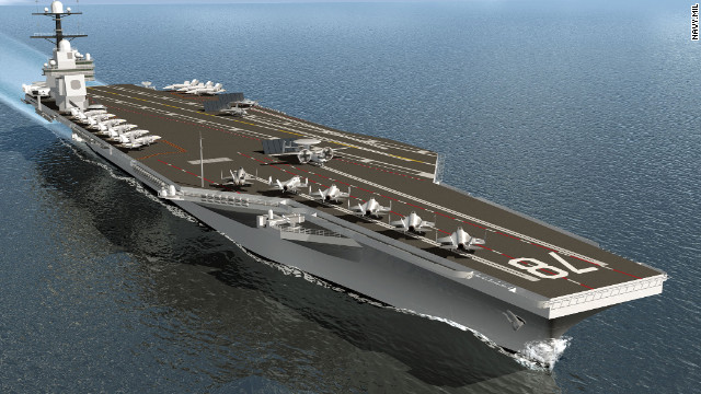 Navy's new gender-neutral carriers won't have urinals