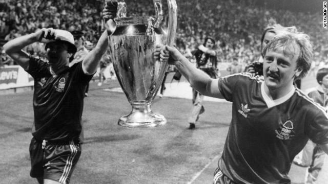 A year later, Forest stunned the football world by winning the European Cup, eliminating two-time defending champions Liverpool before beating Sweden's Malmo in the final. 