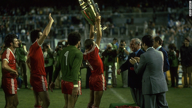 Forest matched Liverpool's feat by winning Europe's top club tournament again in 1980, beating Hamburg 1-0 in the final in Madrid. 