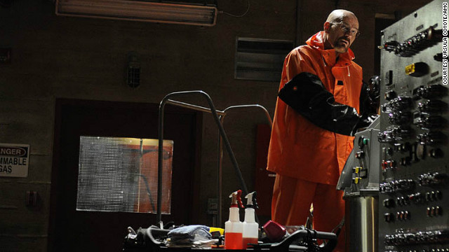 Walter White (Bryan Cranston) completed his transformation into ruthless drug kingpin during season 4 of
