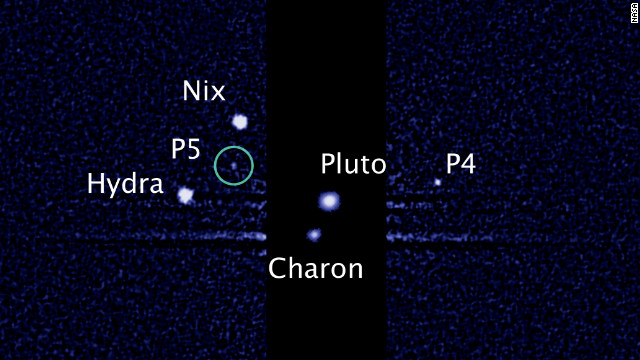 NASA's Hubble telescope finds Pluto's fifth moon