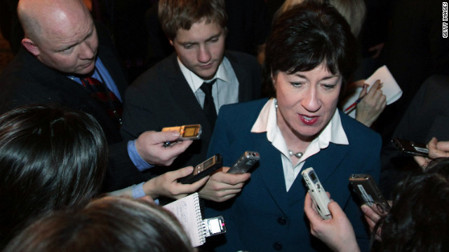 Republican Sen. Collins will support Manchin-Toomey gun compromise