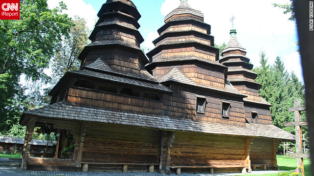 Western Ukraine is home to a number of charming wooden churches, like this one captured by Polat Kizildag on a trip to Lviv in mid 2011. The city's diversity of architecture, green spaces and historic sites ensures &quot;it deserves its motto: Heart of Europe, soul of Ukraine,&quot; he adds. 