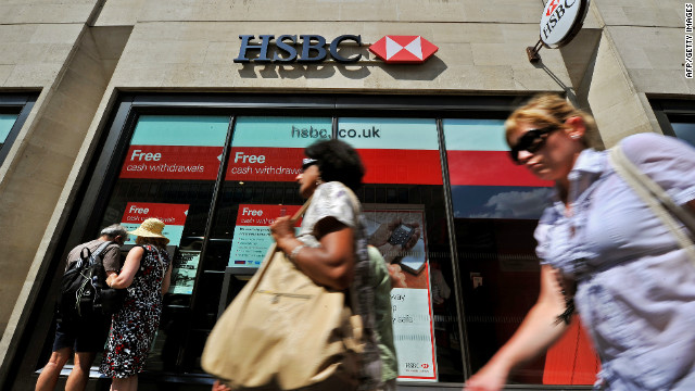 HSBC, Europe's largest bank, announced Wednesday it will lay off up to 14,000 employees by 2016.