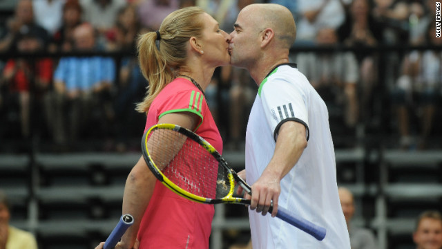Agassi and Graf: The gold medal couple of tennis