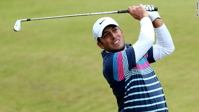 Francesco Molinari recorded the best ever round at the Inverness links