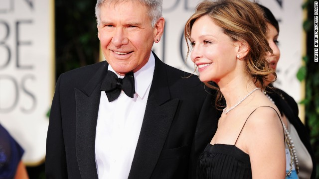 "Harrison Ford turns 70 on July 13. Can you believe it? Well, neither can we. Here is a look back at the actor, producer, husband of Calista Flockhart (the pair are seen here arriving for the Golden Globe Awards in January), and the man who will forever be ""Han Solo"" in our hearts."