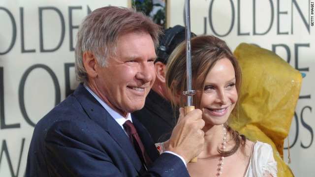 Ford and Flockhart reportedly first met at the Golden Globes in 2002. Here they arrive at the 67th Annual Golden Globe Awards held at The Beverly Hilton Hotel in January 2010.