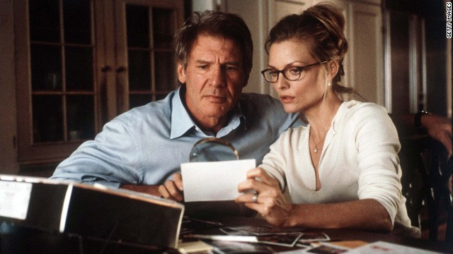 "Harrison Ford starred with Michelle Pfeiffer in the 2000 film horror film, ""What Lies Beneath."""